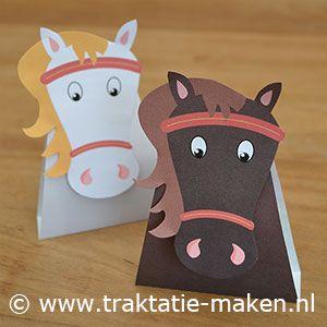 afbeelding traktatie Paarden