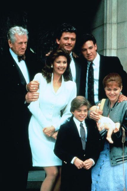 Danielle Steel's Daddy (1991)Starring: Ben Affleck Affleck, along with Baby Jenny Lewis and Matthew Lawrence, played the teen son of Patrick Duffy, who finds love with Lynda Carter after his wife (played by Kate Mulgrew, a.k.a. Orange is the New Black's Red). His character acts out by impregnating his girlfriend. #refinery29 http://www.refinery29.com/2015/07/90971/surprising-actor-movie-roles#slide-2