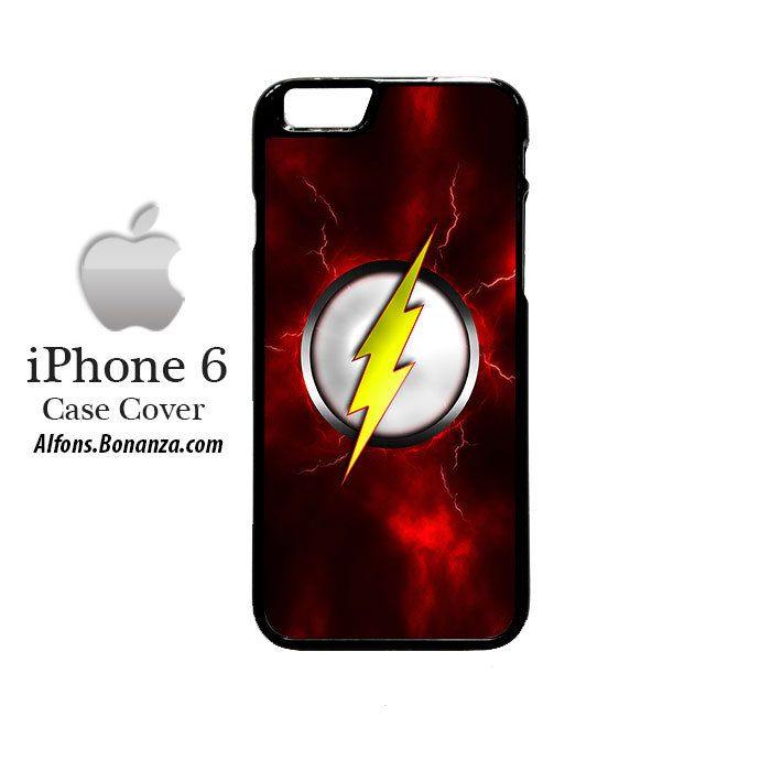 Flash Logo iPhone 6 Hard Case Cover my boyfriend would love this