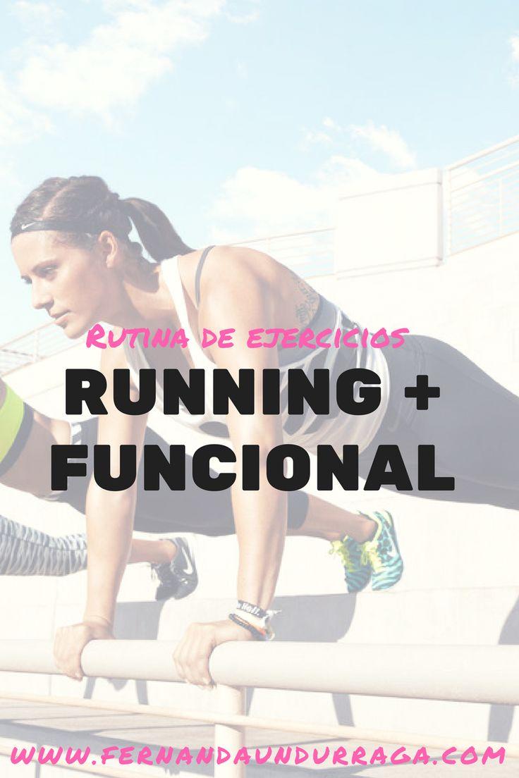 Rutina de ejercicios: Running + Funcional