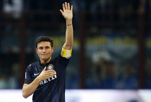 ON THIS DAY: In 2014, Javier Zanetti played his last ever game as a professional footballer. A true legend.