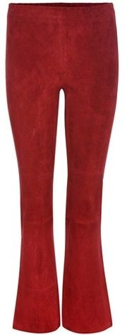 Stouls Maxime Suede Cropped Trousers