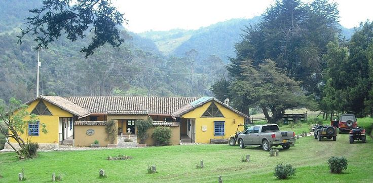 Es la casa del mi amigo en Bogotá, Colombia. La casa es muy simpático.