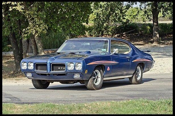 1970 pontiac gto judge ram air iv unrestored oklahoma car for sale by mecum auction cars. Black Bedroom Furniture Sets. Home Design Ideas