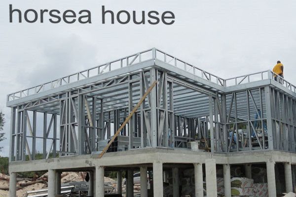 #Steel construction frame
