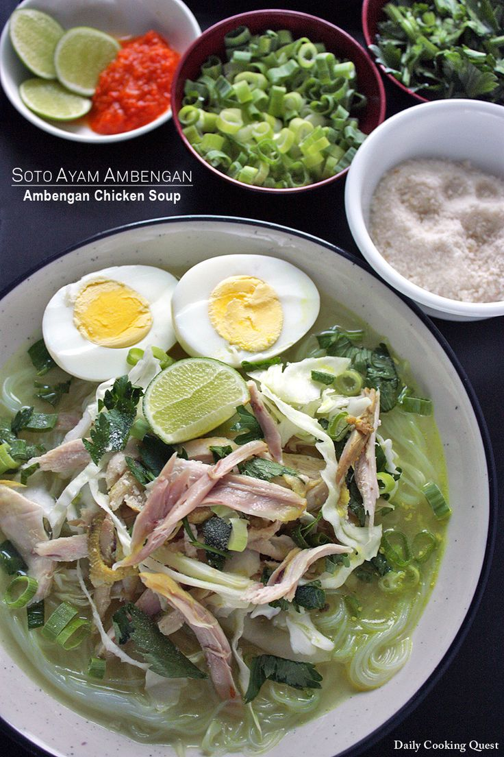 || Soto Ayam Ambengan || The naming of a soto is pretty simple, usually we just append the location it hails from after soto. For example, soto Betawi comes from Betawi, which is Jakarta by the way Then, coto Makassar comes from Makassar, soto Bandung comes from Bandung, etc. Soto ayam Ambengan is exactly like …