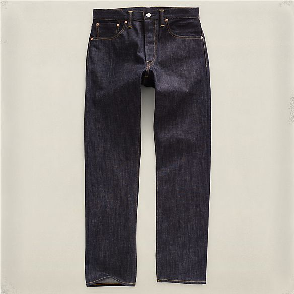 Slim-Straight Rigid Jean