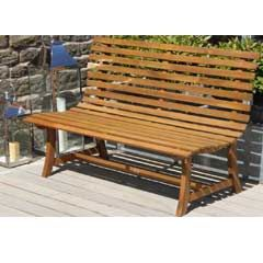 Buy Pacific Santana Acacia Bench 140cm at Guaranteed Cheapest Prices with Rapid Delivery available now at Greenfingers.com, the UK's #1 Garden Furniture Store 119