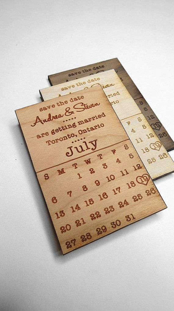 Save the Date Wedding Cards Wedding Magnet Invite
