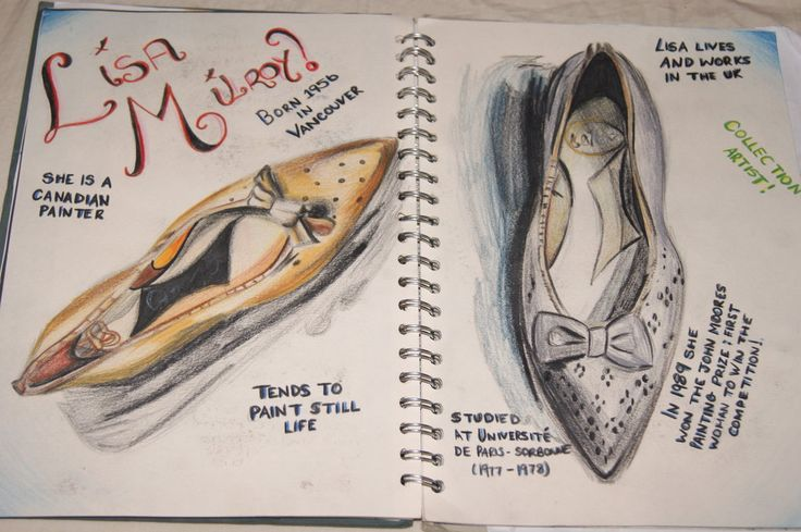 Lisa Milroy artist research