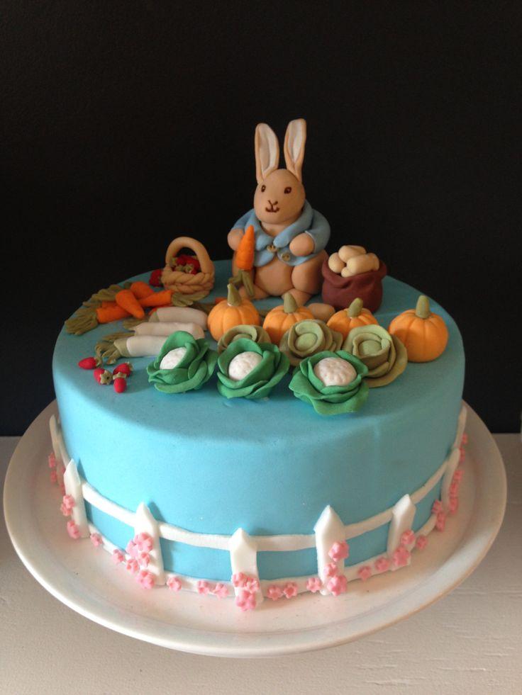 Rabbit Cake Decor : Peter Rabbit Cake Dinkel Bakery Pinterest Peter ...