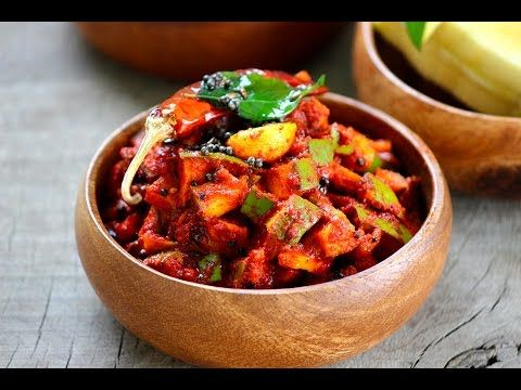 Mango pickle temporary-Mango chinna mukkala pachadi - Foodvedam