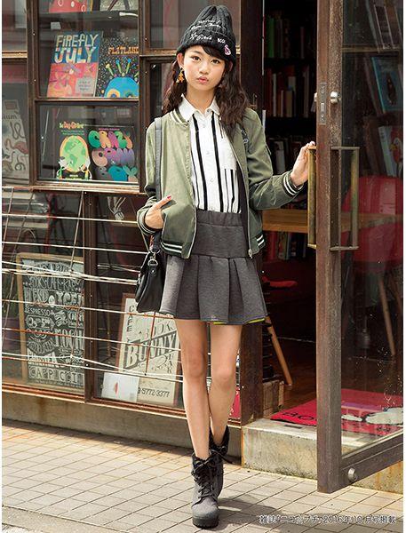 ニコ☆プチ 2016年10月号掲載コーディネート - コーディネート | BLUECROSS girls(ブルークロス ガールズ) 公式通販 - ナルミヤオンライン