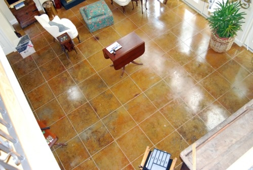 Stamped Concrete Floor Finishes : Best cement floors images on pinterest
