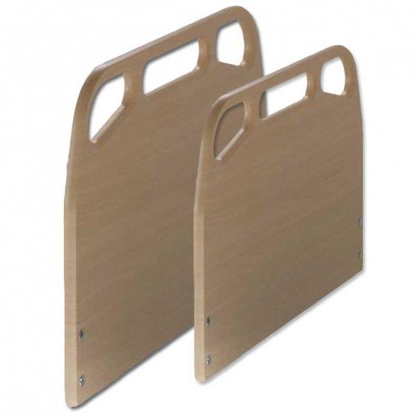 CABECERO Y PIECERO - REF: LODOSA: El cabecero y piecero Lodosa de Tecnimoem es polilaminado y está realizado en PVC de color haya.