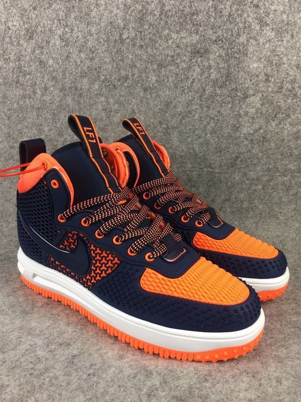 4b8e414af810 2018 Spring Fashion Nike Lunar Force 1 Duckboot High Blue Orange ...