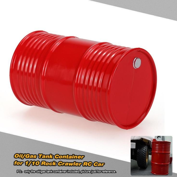 Oil Gas Tank Container for 1/10 AX10 SCX10 RC4WD Rock Crawler RC Car