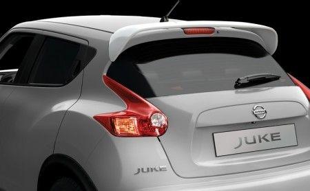 Nissan Juke Glossy White Roof Spoiler - KE6151KA00WH