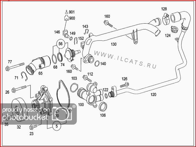 For A 1997 Mercede C230 Engine Diagram