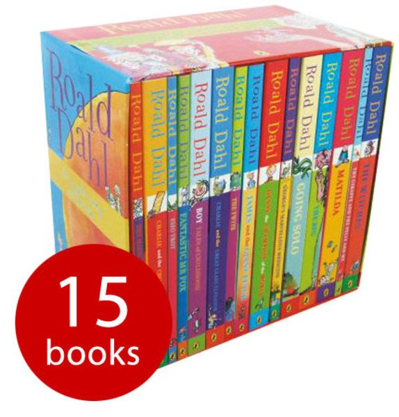 BARGAIN Roald Dahl 15 book set in slipcase for £15.99 delivered with code HELLOBOOK plus 12% off with code MELT (TODAY ONLY) at The Book People - Gratisfaction UK