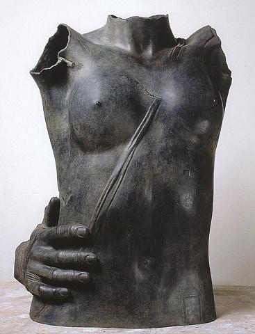 artnet Galleries: Eros II by Igor Mitoraj from DIE GALERIE