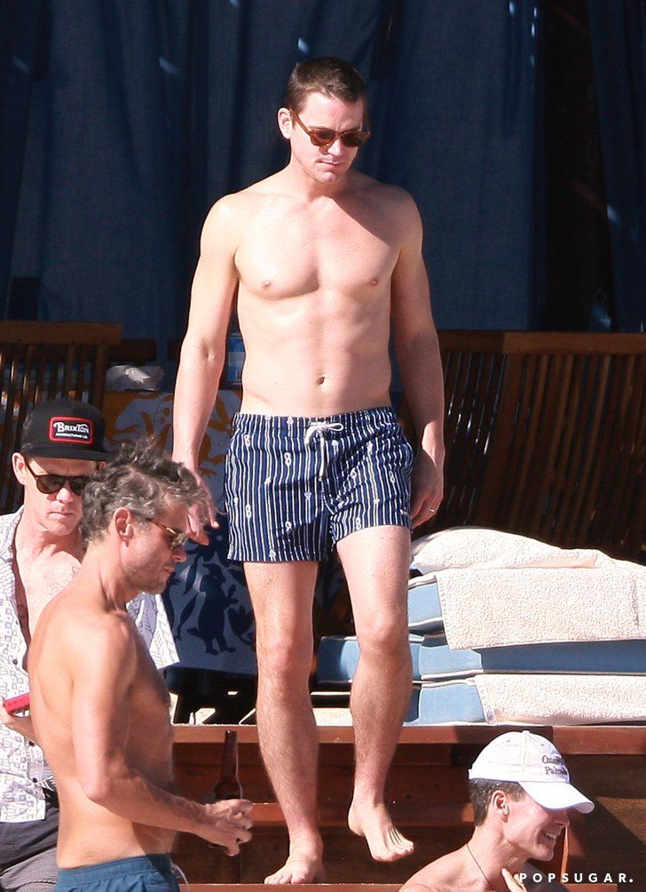 Pin for Later: The 21 Sexiest Shirtless Moments From 2014 Matt Bomer's Birthday Beach Body In January, Matt Bomer headed to Cabo with Kelly Ripa to celebrate the birthday of his now-husband, Simon Halls.