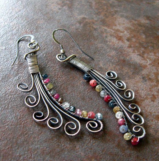 Earring -Bead n Wire