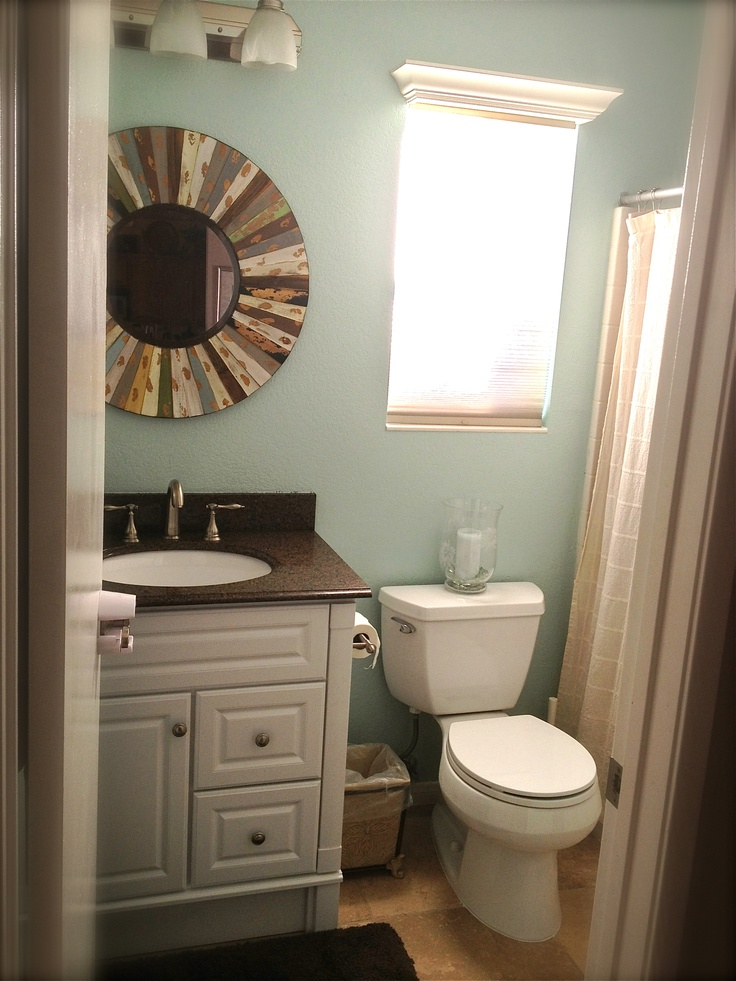 My New Guest Bathroom Finished House Projects
