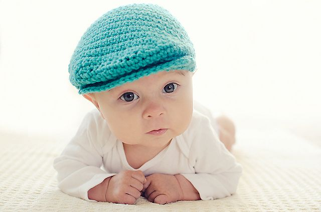 Way Too Cute! Ravelry: Seamus Scally Cap (Child Sizes) pattern by Jenny Allbritain