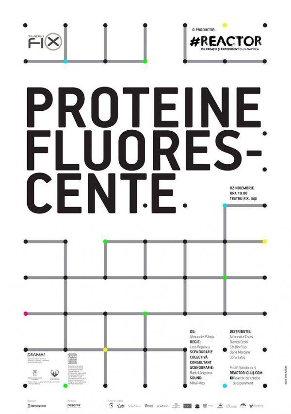 Proteine fluorescente @Teatru Fix