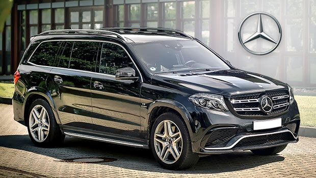 2018 Mercedes Benz Gls 63 Amg Large Luxury Suv With Biturbo V8