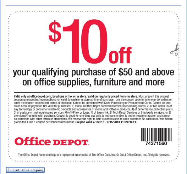 Office depot customer feedback survey customer survey - Office depot discount code ...