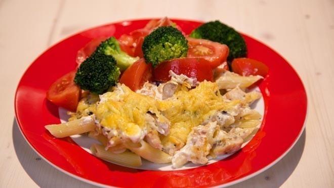 Pasta met forel uit de oven - De Makkelijke Maaltijd   24Kitchen