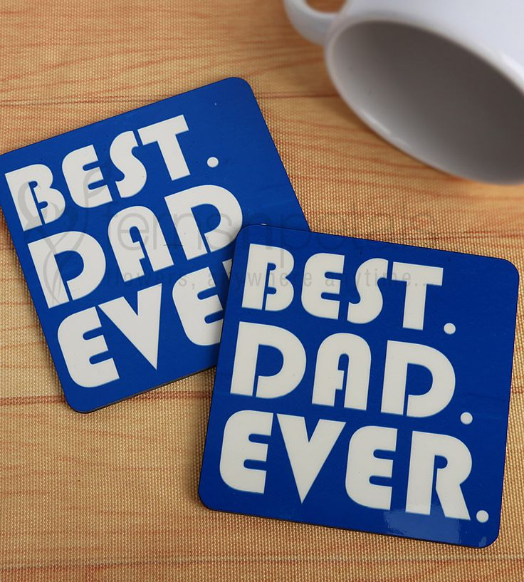 Let your #gift be simple and useful this #Father's #Day. Send him these #coasters and remind him of your #love every time he uses it.