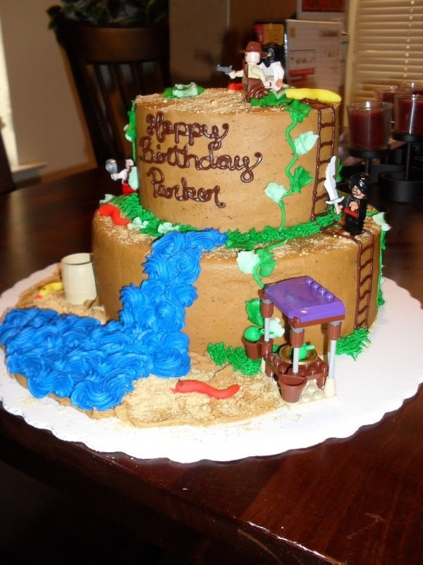 indianjones birthday party invitations printable%0A Brandi u    s Sweets  LEGO Indiana Jones Cake