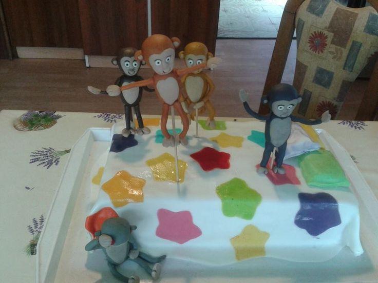 five little monkeys jumping on the bed... za mašu