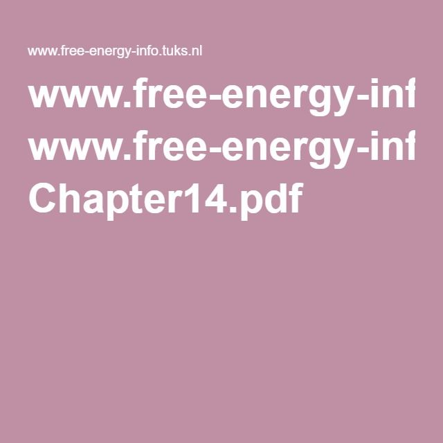 www.free-energy-info.tuks.nl Chapter14.pdf