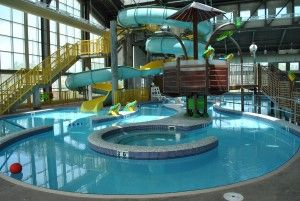 Looking to relax? Then you'll definitely enjoy the lazy river.