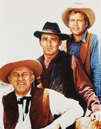 El Virginiano (The Virginian, 1962–1971). James Drury, Doug McClure, Lee J. Cobb.