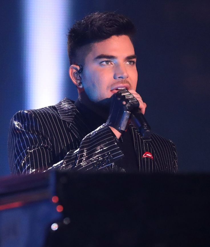 Adam Lambert presents at BBC Music Awards!