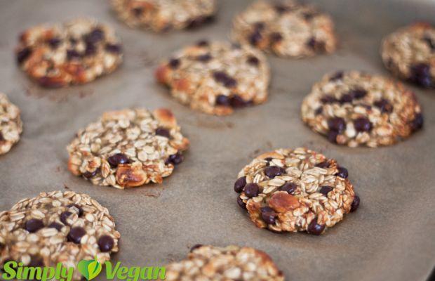 Bananen-Hafer-Kekse | vegane Rezepte in Desserts & Süßes