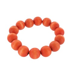 Pohjola bracelet, orange - Aarikka