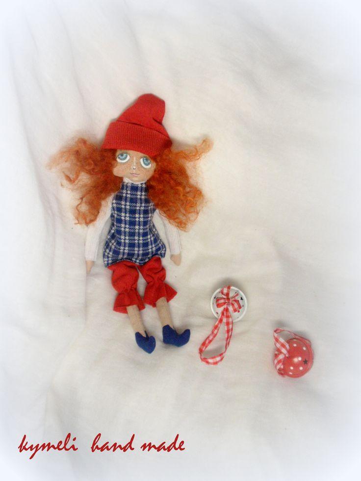 Elf, little Art Doll by kymeli