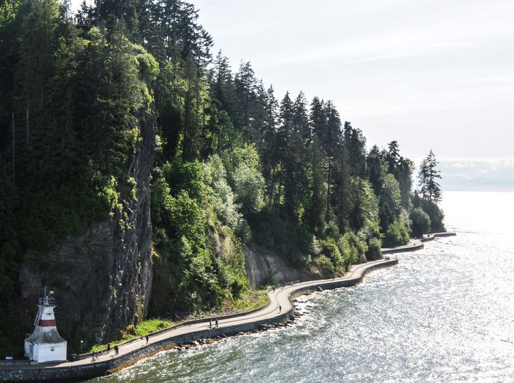 Stanley Park Sea Wall, Vancouver, B.C.