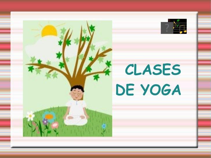 Presentación yoga 3ºh