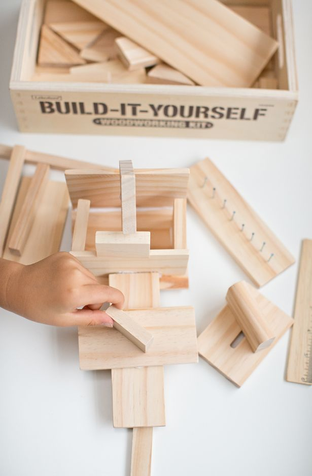 Woodworking kit for Kids | Lakeshore Learning (plus 20% off until 12/31/14)