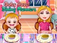 Its time for Baby Hazel to learn about Dining Manners as she is enough grown up. Play Baby Hazel Dining Manners game on topbabygames.com at http://www.topbabygames.com/baby-hazel-dining-manners.html