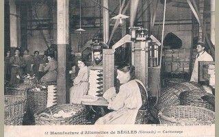 33 - Bègles - Manufacture d'Allumettes - Cartonnage