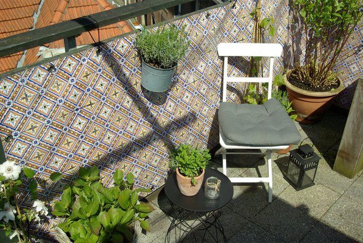 Balkon decoratie: Boho stijl - Stek Magazine