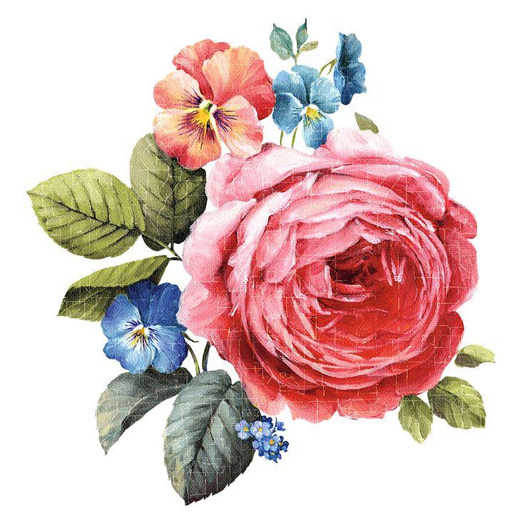 картинки для декупажа розы на голубом фоне развлекались тем
